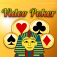 Video Poker Blitz of Pharaohs with Big Wheel of Jackpots!